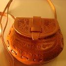 Geniune Peruvian mini handbag leather purse