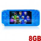 8GB 4.3-in Touch Screen Handheld Game Console MP5 Player w/ Camera (Blue)