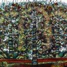 Original Batik Art Painting on Cotton, 'Tree of Life' by M. Yono (150cm x 90cm)