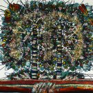 Original Batik Art Painting on Cotton, 'Tree of Life' by M. Yono (100cm x 90cm)