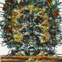 Original Batik Art Painting on Cotton, 'Tree of Life' by M. Yono (45cm x 50cm)