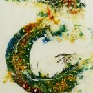 Original Batik Art Painting on Cotton, 'Warrior Dragon' by Kapitan (45cm x 150cm)