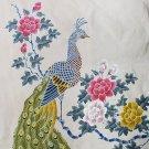 Original Batik Art Painting on Cotton, 'Peacock' by Anfei (90cm x 150cm)