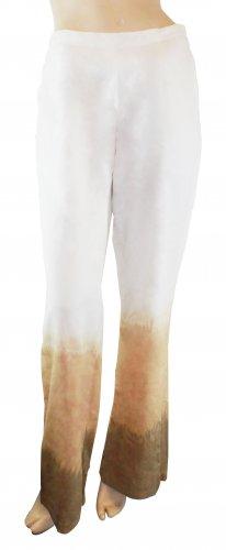 Ladies' Natural Dye Sponge Cotton Long Pants (XL)