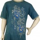 Eco-friendly Natural Dyed Batik T-Shirt