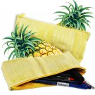 Eco-friendly Natural Dyed Pineapple Silk Pencil Case