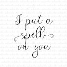 I Put A Spell On You Digital File Download (svg, dxf, png, jpeg)