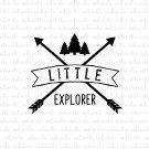 Little Explorer Digital File Download (svg, dxf, png, jpeg)