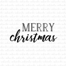 Merry Christmas Digital File Download (svg, dxf, png, jpeg)