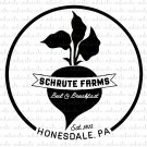 Schrute Farms Bed and Breakfast Honesdale PA Digital File Download (svg, dxf, jpeg)