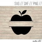 Apple Digital Art File Download with Name Space (svg, dxf, png, jpeg) (Teacher, Teaching)