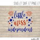 Little Miss Independent Digital Art File Download (svg, dxf, png, jpeg)