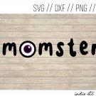 Momster Digital Art File Download (svg, dxf, png, jpeg) (Halloween)