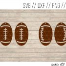 Foortball Earring Digital Art File Download (svg, dxf, jpg) Leather Earrings Cut File