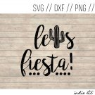 Let's Fiesta Digital Art File with Cactus (svg, dxf, png, jpeg, cut file, template)