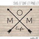 Mom Life Digital Art File Download (svg, png, dxf, jpg, cut file, template)