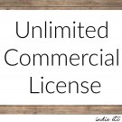 Digital Download Unlimited Commercial License from Indie Etc