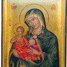 Virgin Mary & Child Byzantine Hagiography Icon