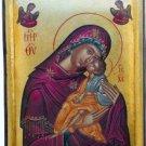 Virgin Mary & Jesus Christ Byzantine Handpainted Icon