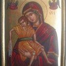Virgin Mary & Jesus Christ Byzantine Hagiography Icon