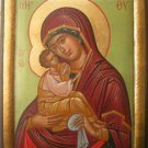 Virgin Mary & Jesus Christ Greek Orthodox Handpainted Icon