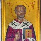 Saint Nicholas Byzantine Handpainted Icon