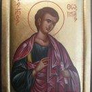 Saint Sergius Byzantine Handpainted Icon