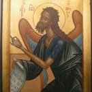 Saint John the Baptist Byzantine Handpainted Icon