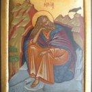 Prophet Elias Byzantine Handpainted Icon