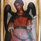 Archangel Raphael Byzantine Handpainted Icon