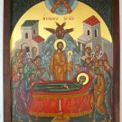 Dormition of the Virgin Mary Byzantine Handpainted Icon