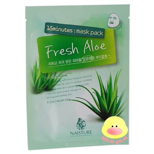 Naisture 15 Minutes Fresh Aloe Mask Pack