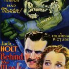 Behind The Mask DVD (1932) Boris Karloff, Jack Holt RARE