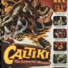 Caltiki, The Immortal Monster Widescreen DVD (1959) Mario Bava