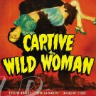 Captive Wild Woman DVD (1943) John Carradine, Evelyn Ankers