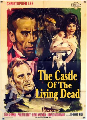 Castle of The Living Dead DVD (1964) Rare Horror