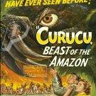 Curucu, Beast of The Amazon DVD (1956) Rare Classic