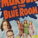 Murder In The Blue Room DVD (1944) Anne Gwynne Rare