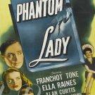 Phantom Lady DVD (1944) Franchot Tone, Alan Curtis, Rare