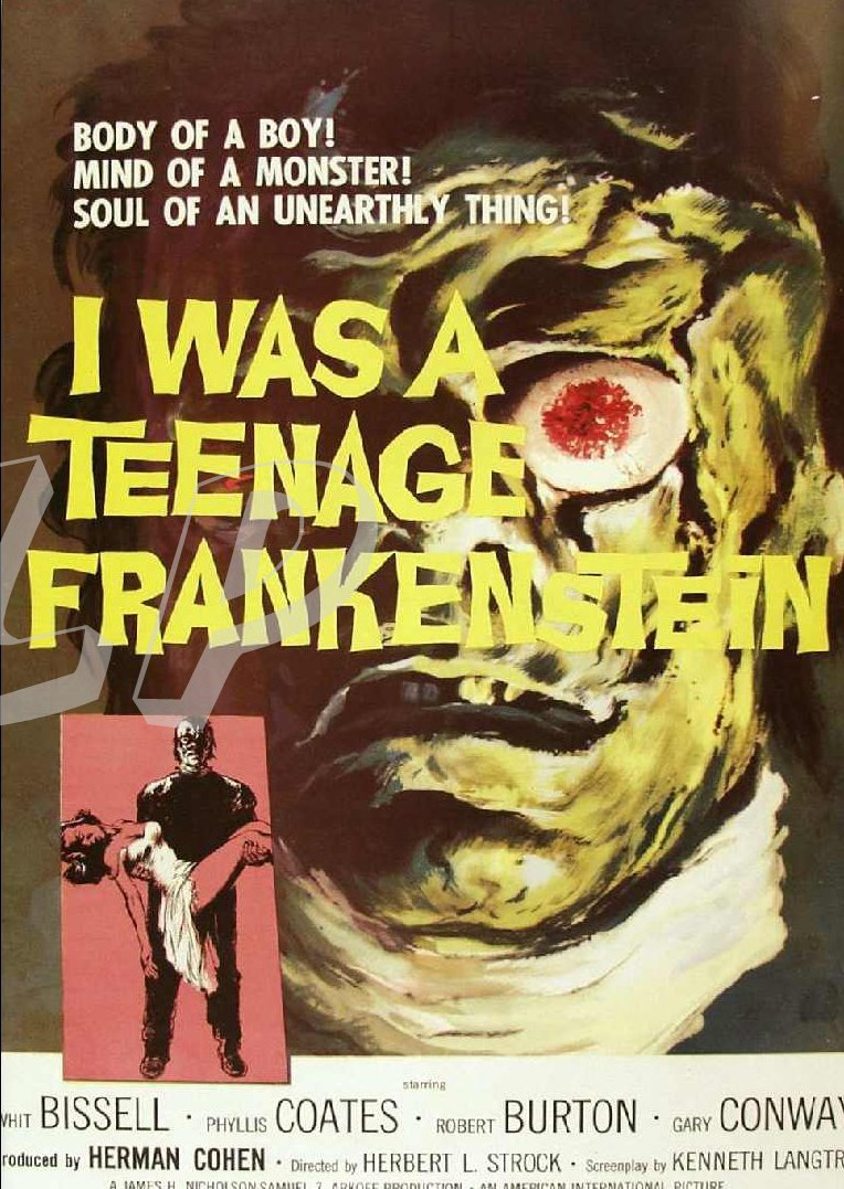 What Stores Accept Paypal Credit >> Teenage Frankenstein DVD (1957) 50's Teen Horror Classic ...