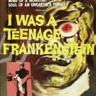 Teenage Frankenstein DVD (1957) 50's Teen Horror Classic, Whit Bissell