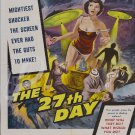 The 27th Day DVD (1957) Gene Barry, Sci-Fi classic