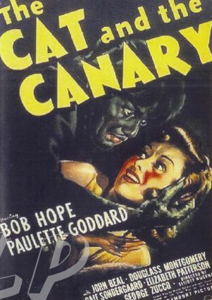 The Cat And The Canary DVD (1939) Bob Hope, Paulette Goddard