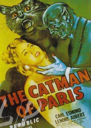 The Catman Of Paris DVD (1946) Rare Horror Classic