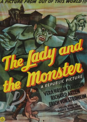 The Lady and The Monster DVD (1944) Erich Von Stroheim