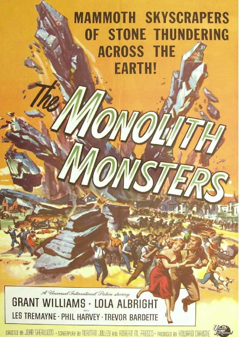 What Stores Accept Paypal Credit >> The Monolith Monsters DVD (1957) Sci-Fi Classic