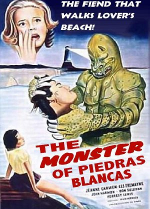 What Stores Accept Paypal Credit >> The Monster Of Piedras Blancas DVD (1959) B-Monster Movie Classic