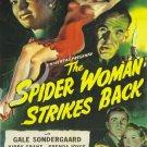 The Spider Woman Stikes Back DVD (1946) Rondo Hatton, Gale Sondergaard