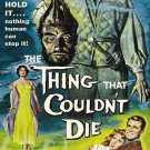 The Thing That Couldn't Die DVD (1958) Rare Horror