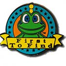 Signal FTF Black Nickel Pin Badge for Geocaching